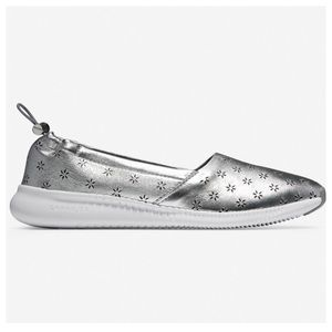COLE HAAN Studiogrand Perforated Slip On Sneakers